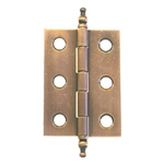 Cabinet butt hinges, antique copper finish Item # ACH1