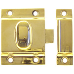 Better Quality latch polished brass finish. Item # BQUL4