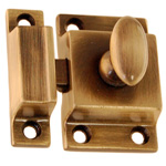 Better Quality latch antique brass finish. Item # BQUL5