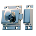 Better Quality latch polished nickel finish. Item # BQUL6