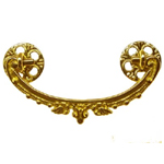 Victorian Ornate Brass Drawer Pull Item # CBP3