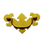 Chippendale brass drawer pull Item # CHIP2