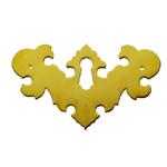 Chippendale brass key hole cover Item # CHIPE1
