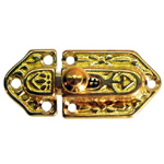 Brass cabinet latch. Item # CL2