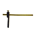 Brass end turn, make your own latch with any knob. Item #ET1