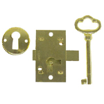 Surface Non-Mortise lock. Item # LOCK1