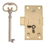 Surface Non-Mortise lock. Item # LOCK2