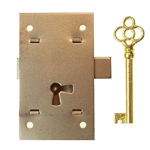 Surface Non-Mortise lock. Item # LOCK3
