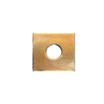 Mission style brass square backplate for MSBK1
