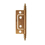 Non-Mortise hinges, antique copper finish. Item # NMH1