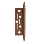 Non-Mortise hinges, antique copper finish. Item # NMH2