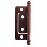 Non-Mortise hinges, antique copper finish. Item # NMH3