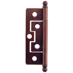 Non-Mortise hinges, antique copper finish Item # NMH4