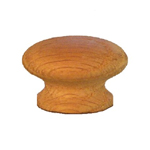 "White Oak wood 1 1/2 "" knob. Item # OK3"