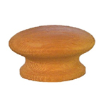 "White Oak wood 1 3/4 "" knob. Item # OK4"