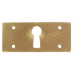 Mission brass key hole cover Item # SBK7
