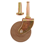 "2""  single wood wheel caster Item # CAST5"