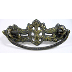 Victorian Cast brass drawer pull. Item # CBP1