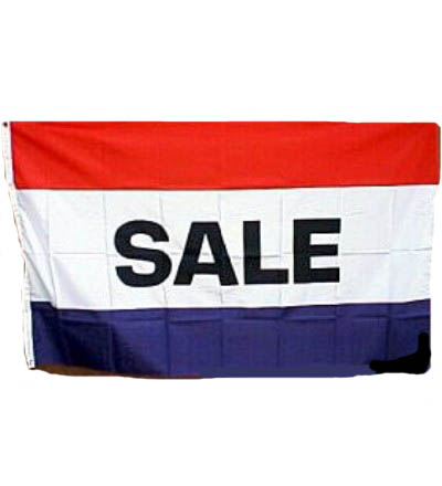 SALE Flag - Red, White & Blue 3' X 5' -- Item # FLGSL