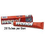 20 Wenol Metal Polish 3.98 Ounce Tubes (100ML) Item WENREDT10